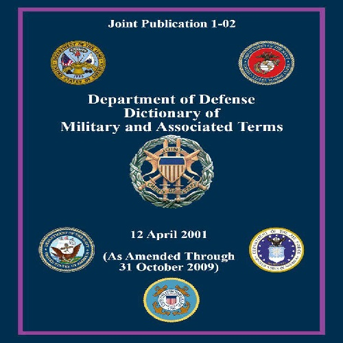 دانلود کتاب DoD Dictionary of Military Terms